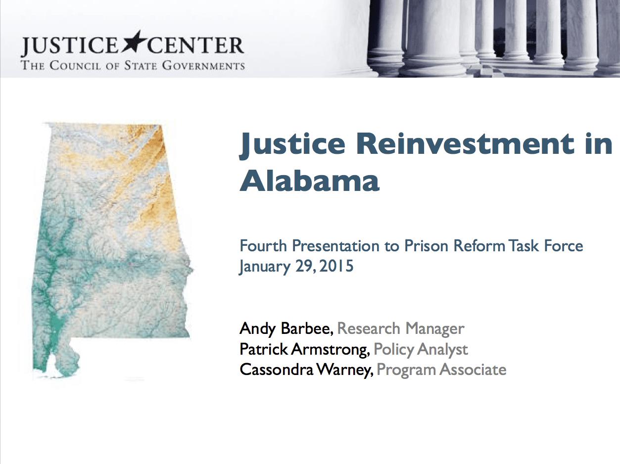 Justice reinvestment act alabama sign yaschar investment gelsenkirchen