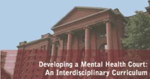 Developing a Mental Health Court: An Interdisciplinary Curriculum
