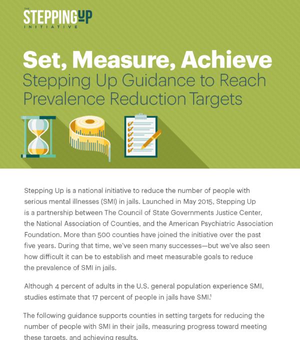 Cover of Set, Measure, Achieve brief